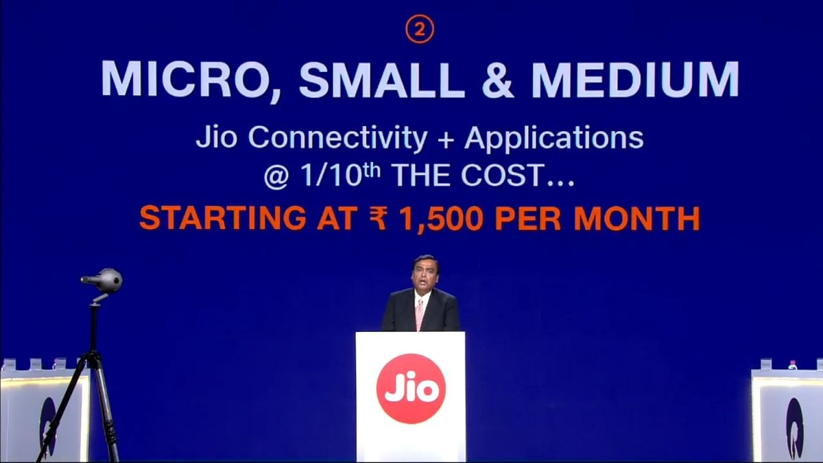 Jio now targeting startups in India.