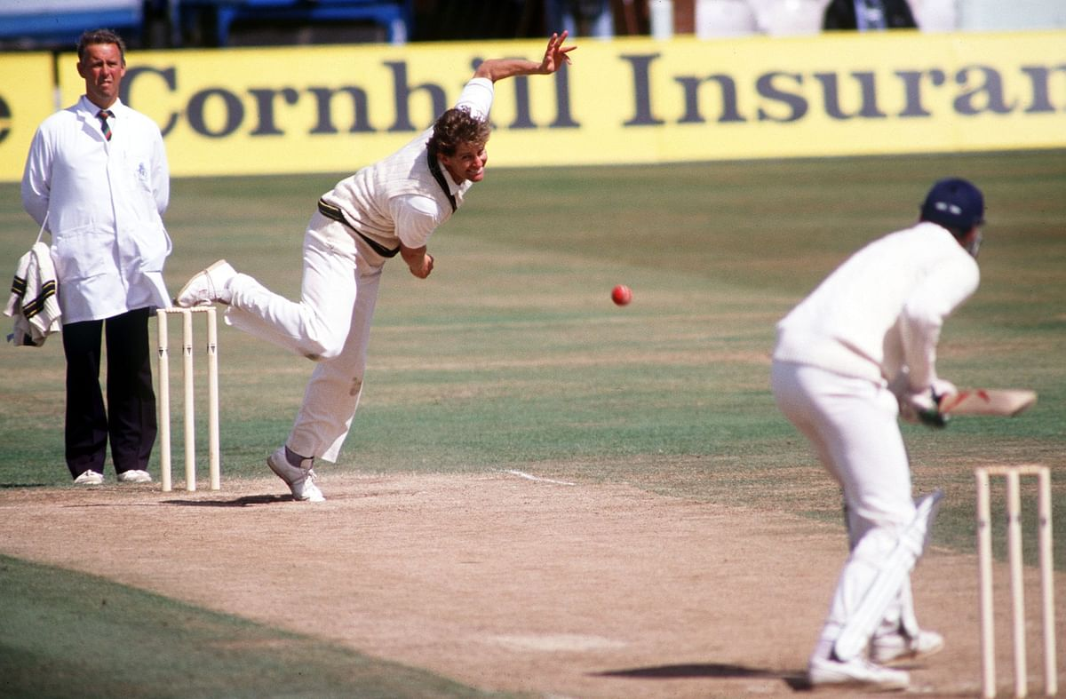 During the 1989 Ashes series, Allan Border's side was dismissed by the English press as the weakest to have toured England.