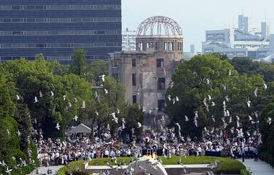 Hiroshima marks 74th anniversary of WWII atomic bombing