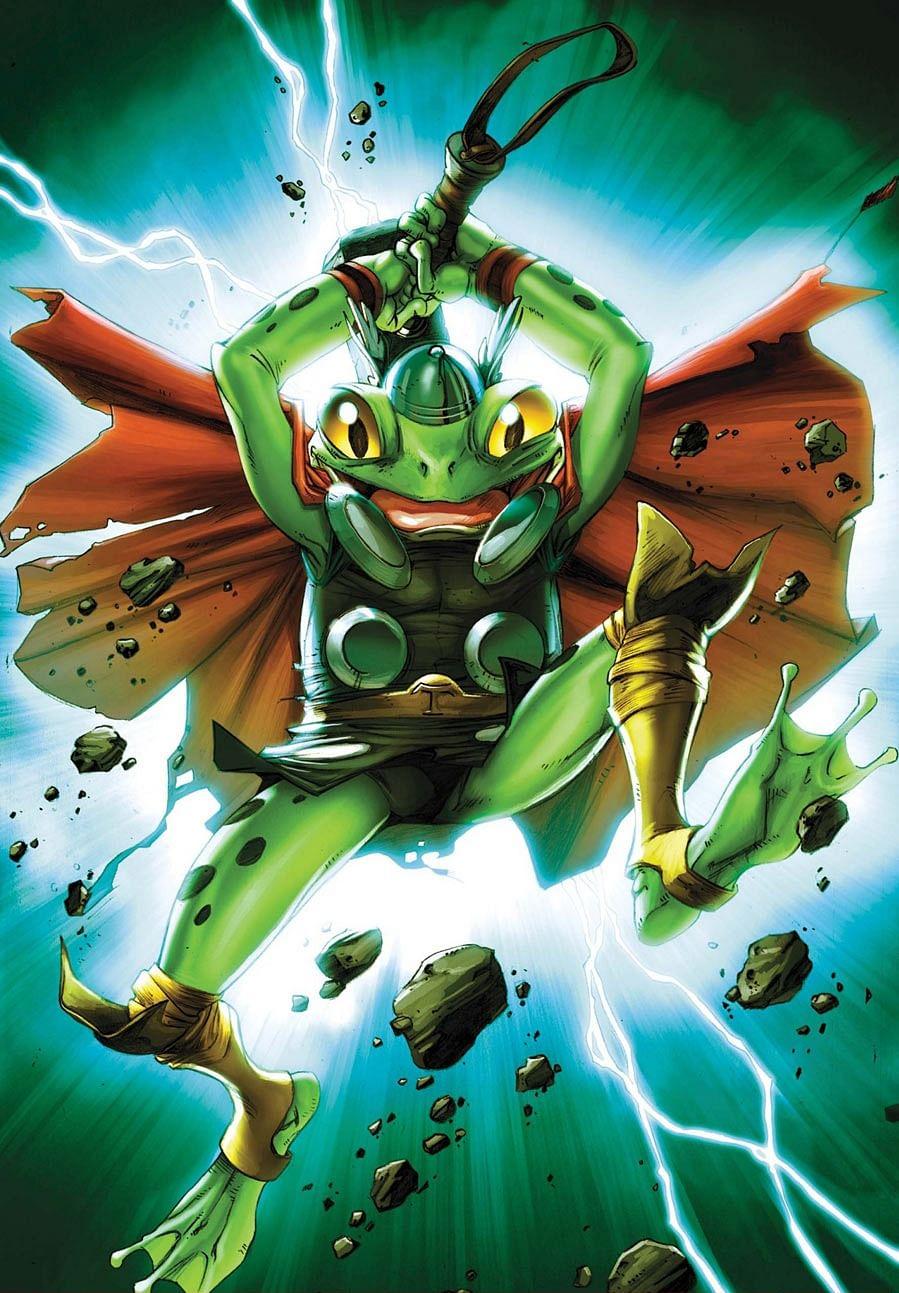 Throg, the Frog of Thunder.