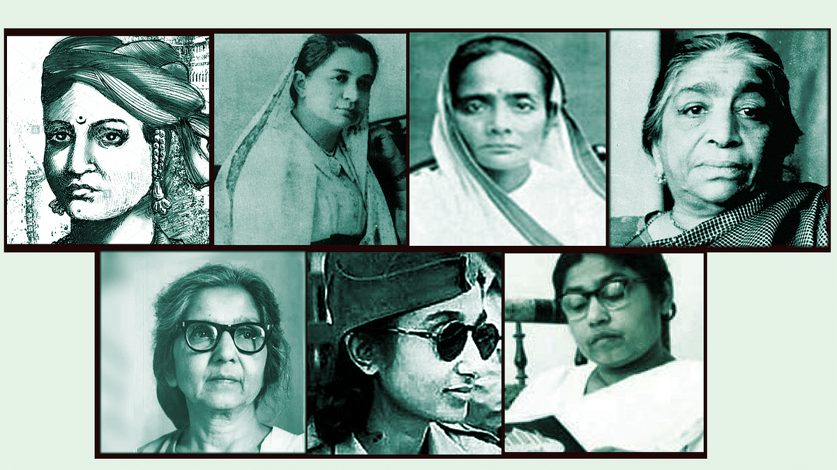Women have played a key role in India's freedom struggle