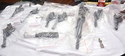 Illegal arms and explosives seized in Kolkata, 2 held