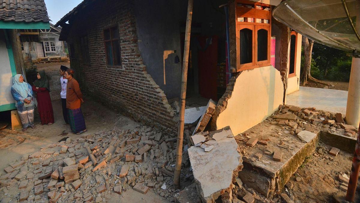 4 Dead As Earthquake Hits Indonesia's Java Island