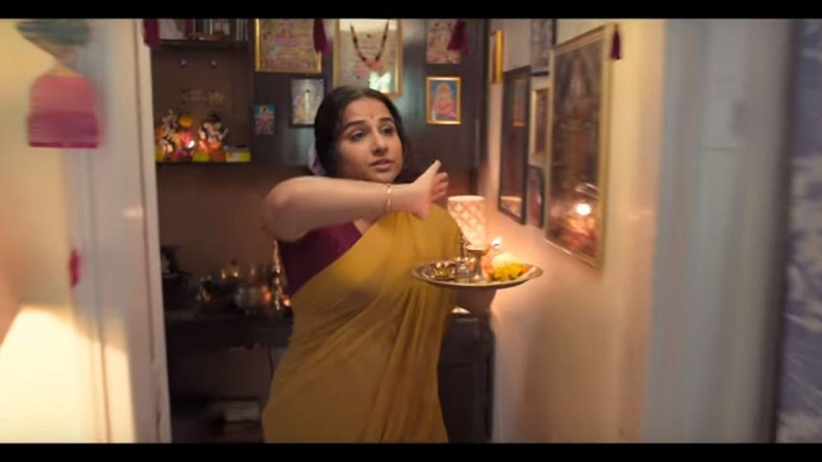 Vidya Balan in <i>Mission Mangal</i>.