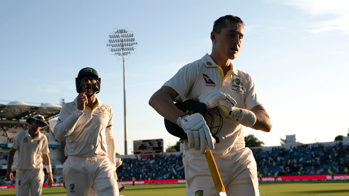 At the end of Day 2, Labuschagne was unbeaten 53 came off 139 balls.