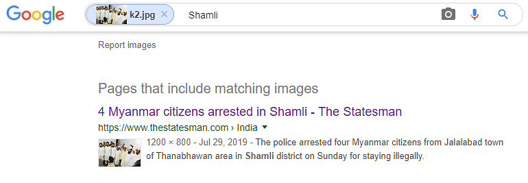 Google reverse search led us to an article published by The Statesman.