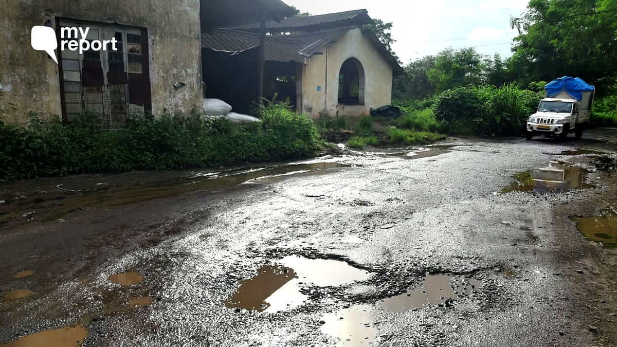 Potholes in Aarey Colony a Nightmare, But Who Will Listen?