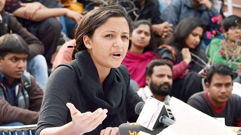 File image of Shehla Rashid.