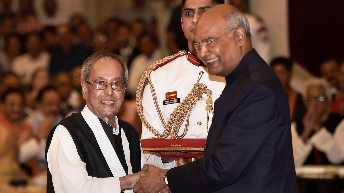 Former President Pranab Mukherjee Conferred Bharat Ratna