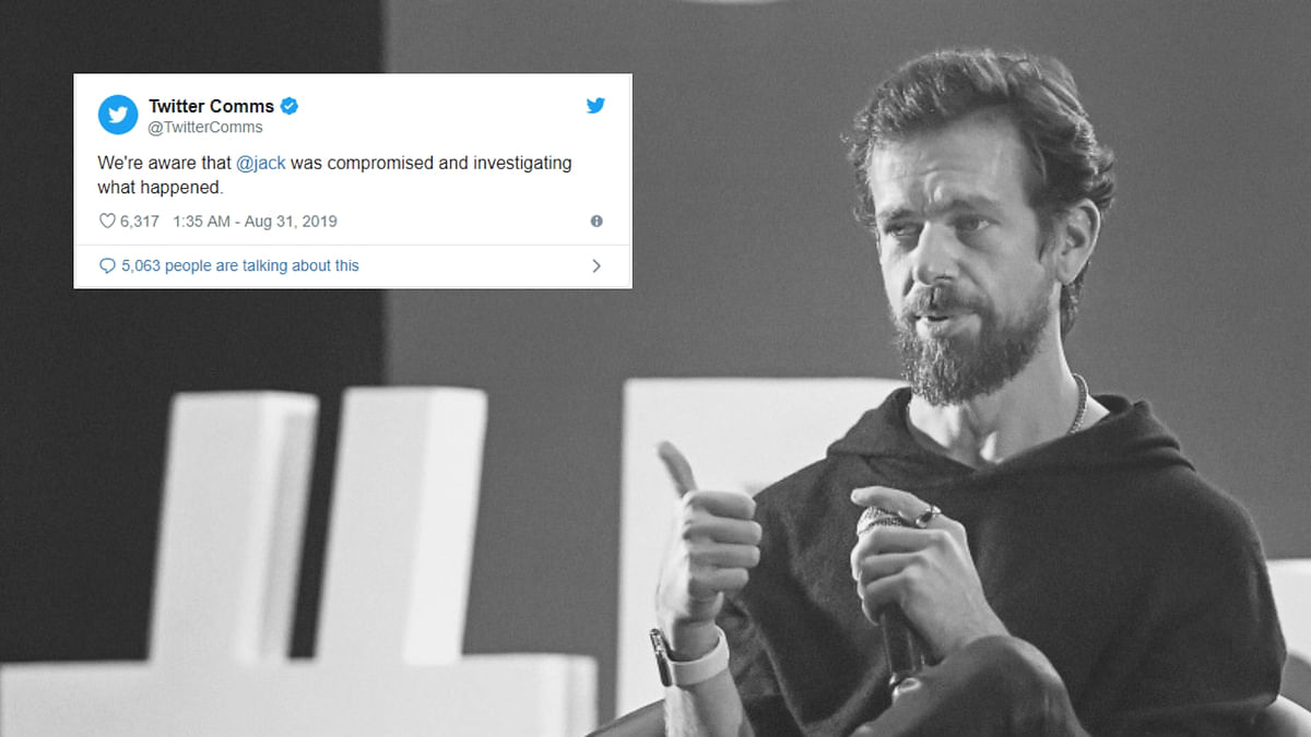'No One is Safe': Twitter CEO Jack Dorsey's Account Hacked Again