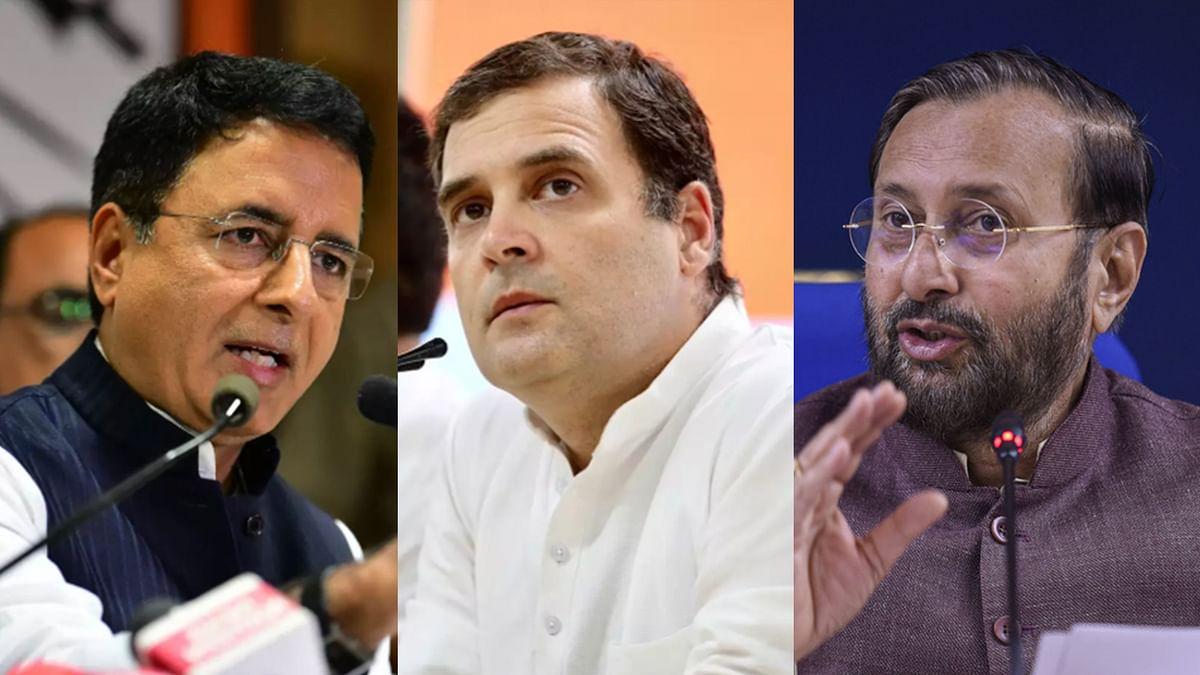 BJP, Cong Spar Over Pak's UN Petition Quoting Rahul Gandhi on J&K