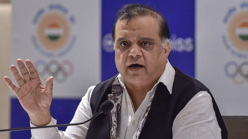File picture of Indian Olympic Association President Narinder Batra.