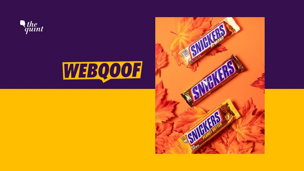 Snicker Bars Destroyed as They Cause Cancer? No, It's Misleading