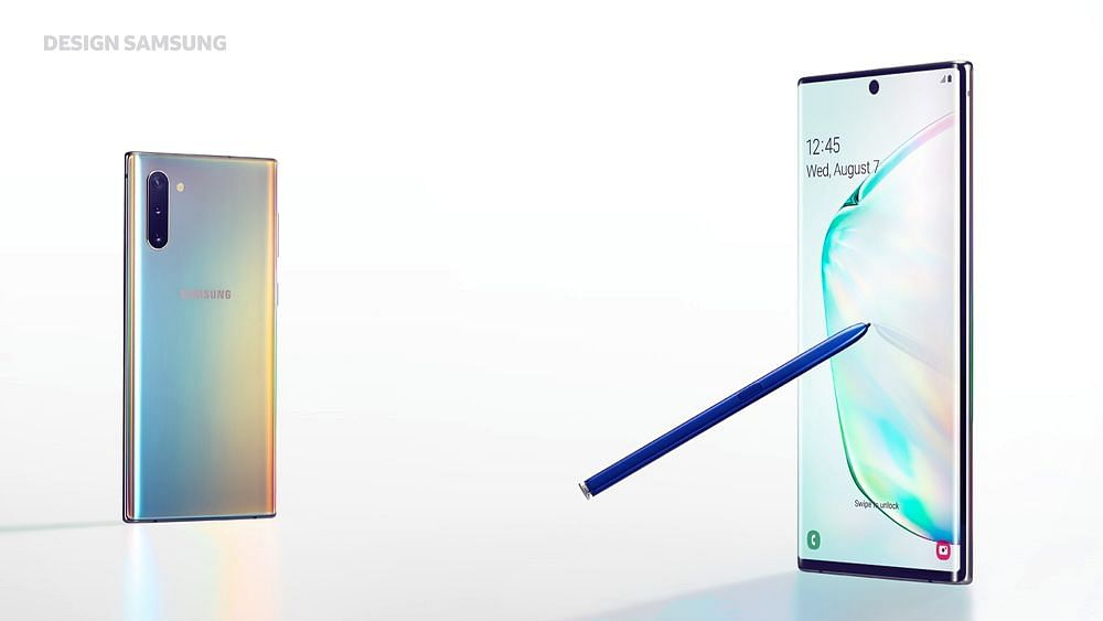 The Samsung Galaxy Note 10 is now available in India.