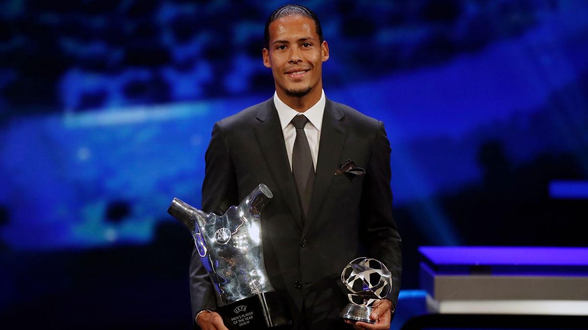 Defenders Van Dijk, Bronze Win UEFA's Player of the Year Awards