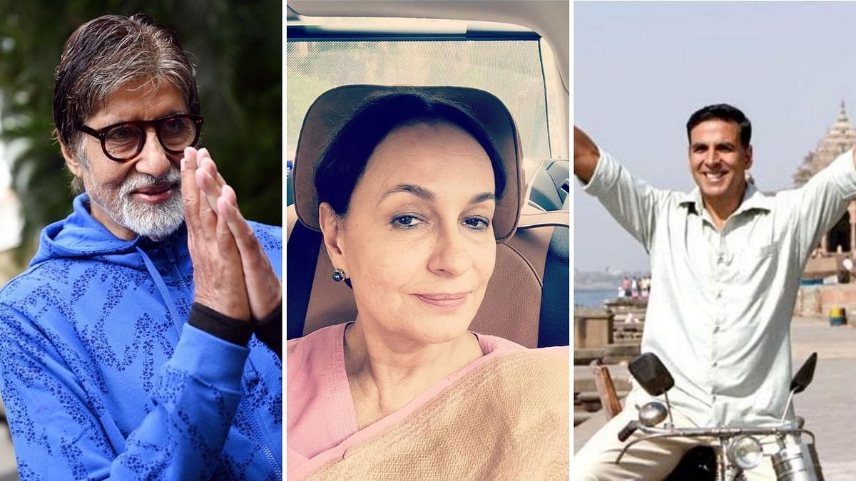Bollywood took to Twitter to send out Eid wishes.