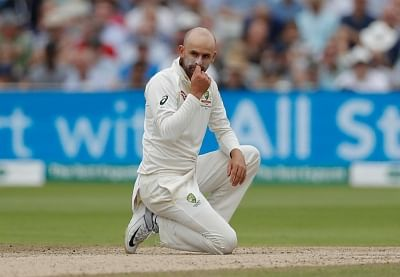 Nathan Lyon is eyeing his 400th Test wicket when Australia play India.