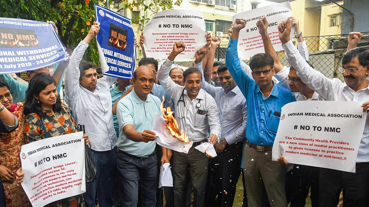 Delhi Docs Protest Against NMC Bill, Patients Affected Severely