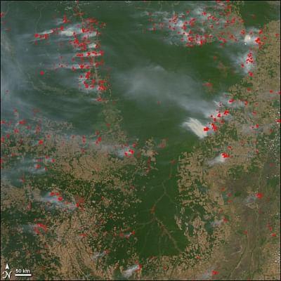 Brazil reiterates sovereignty over Amazon rainforest