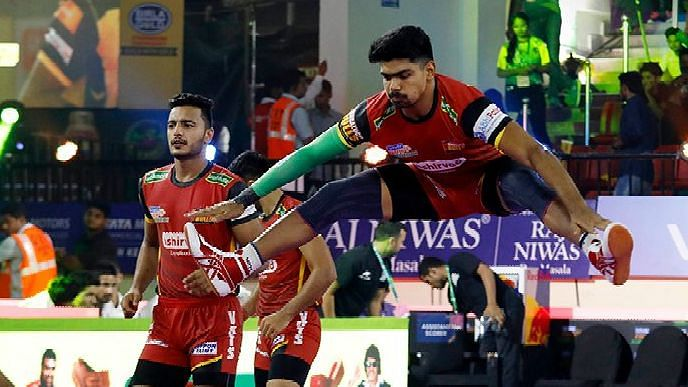 In the second half, Bengaluru defence made no mistake in tackling the raider and inflicting a second all-out on Titans.