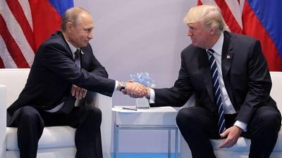 Trump, Putin speak over phone on trade, wildfires
