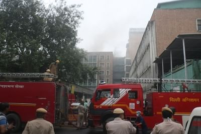 Fire Service blames AIIMS for losses in fire