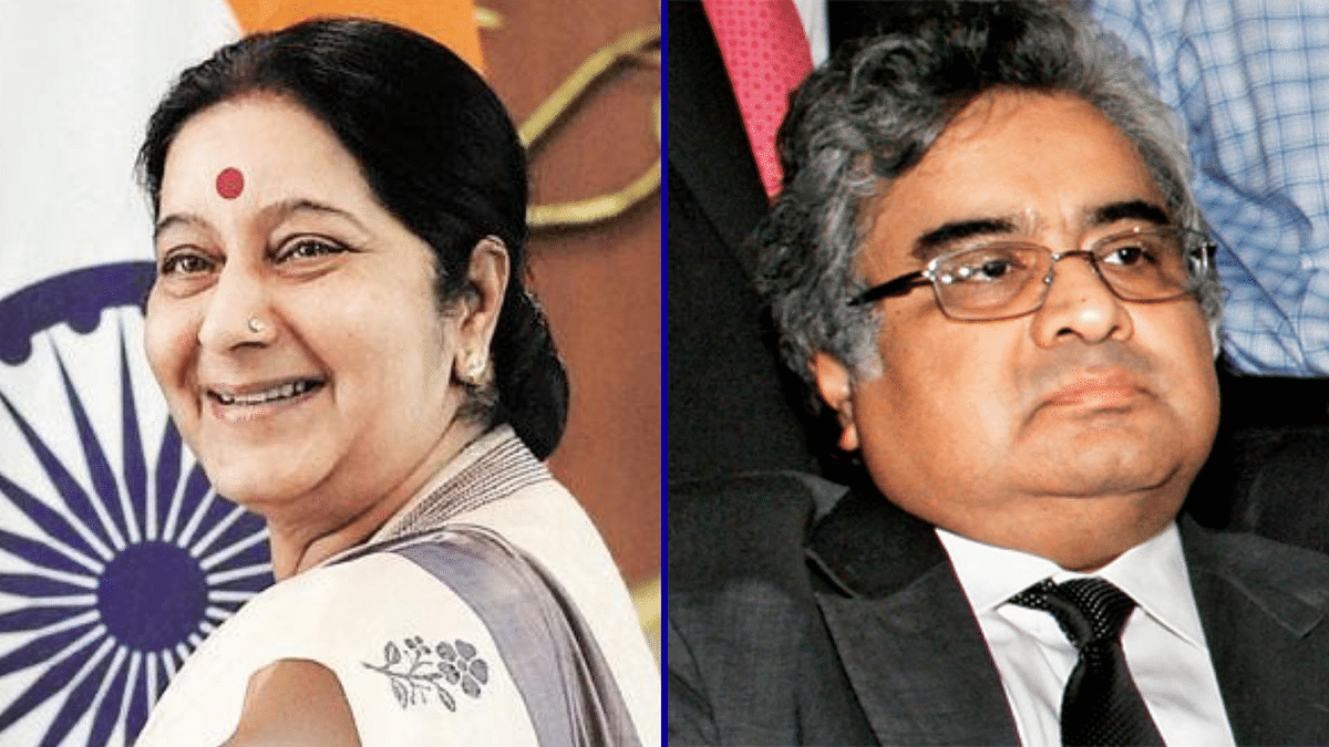 'Come, Collect Your Re 1 Fee Tomorrow': Swaraj Told Harish Salve