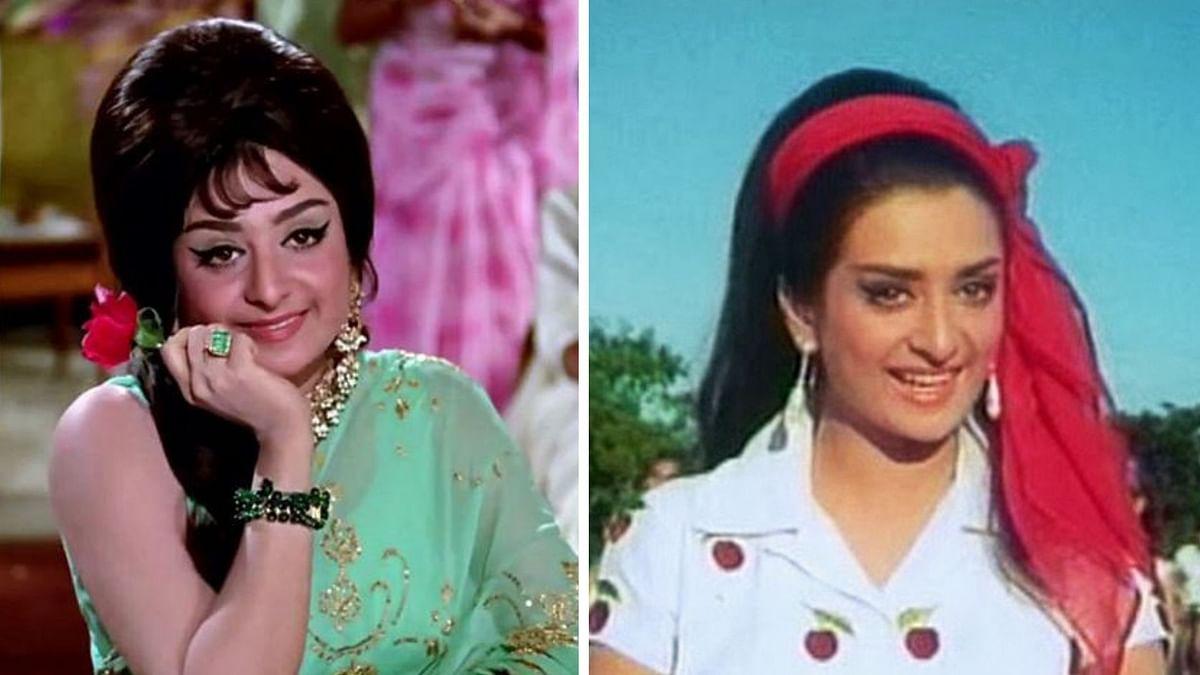 Saira Banu in <i>Padosan</i>.