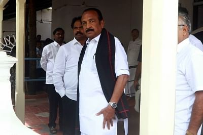 Article 370: Vaiko says promise to people not kept