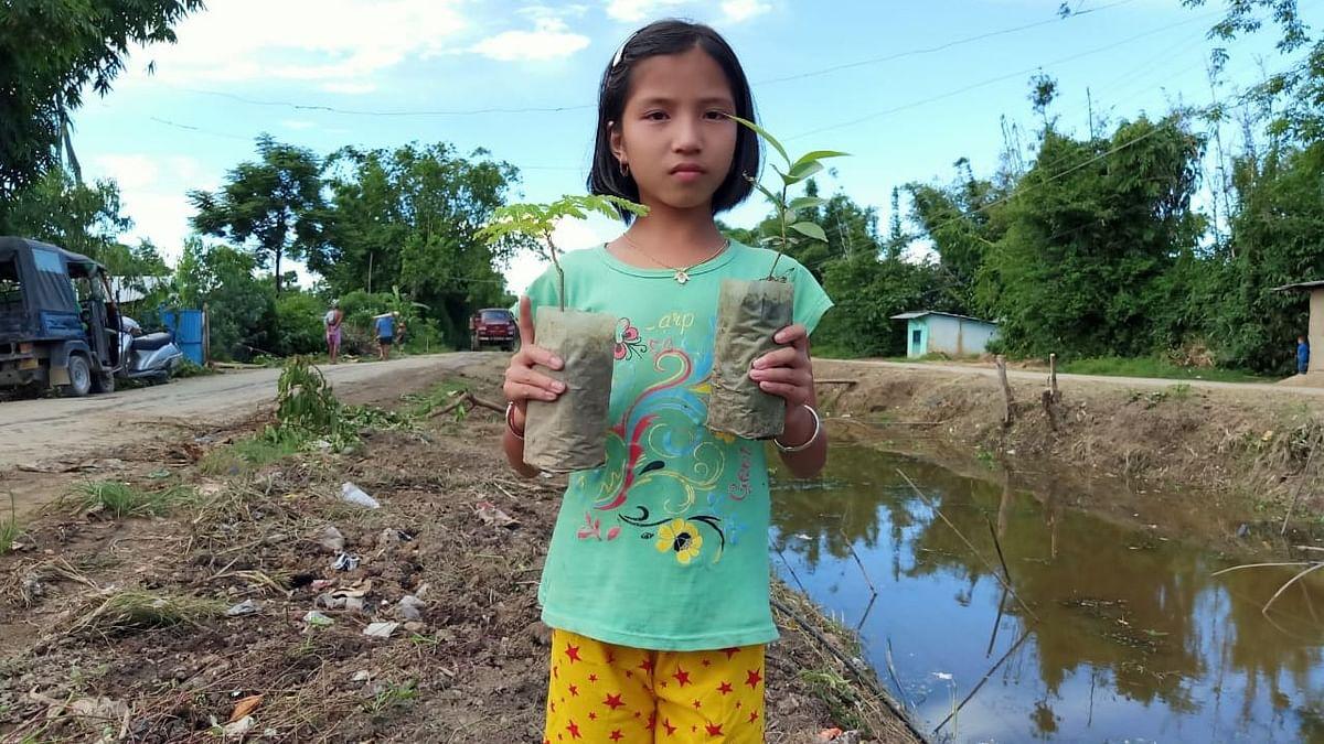 Elangbam Valentina Devi was appointed Green Ambassador of Manipur.