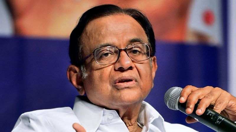 File image of former Finance Minister P Chidambaram.