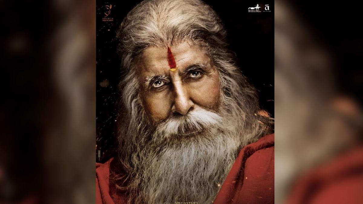 New Posters: Big B, the Guiding Force in 'Sye Raa Narasimha Reddy'