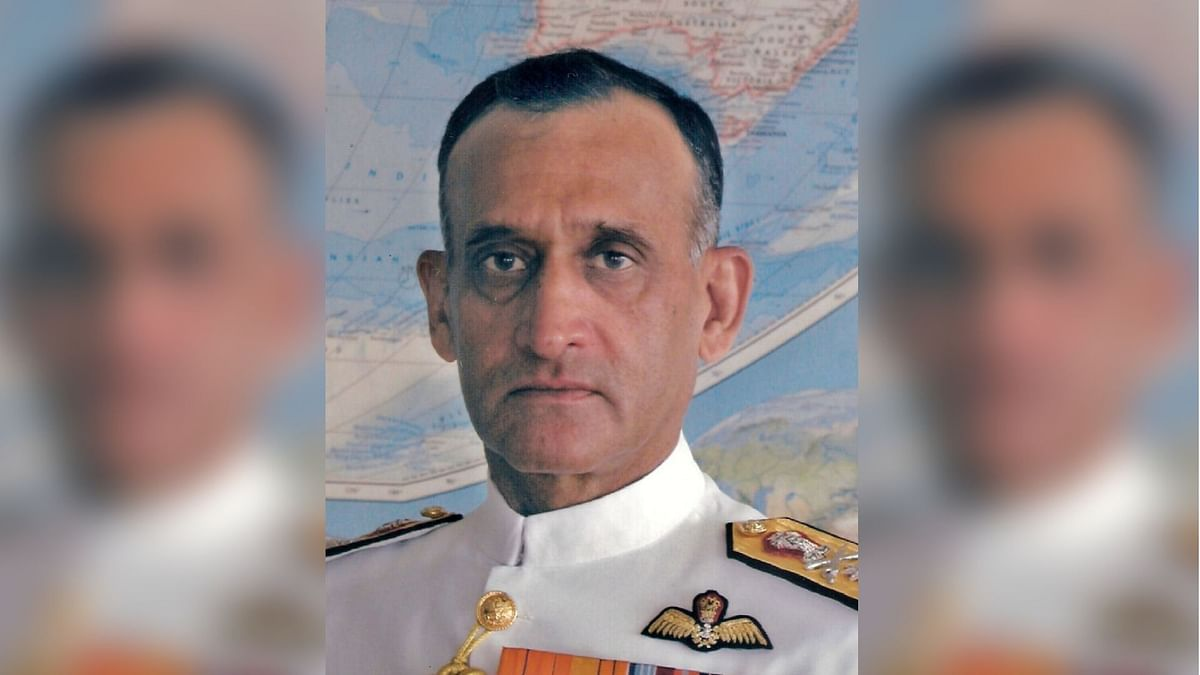 Former Navy Chief Arun Prakash.