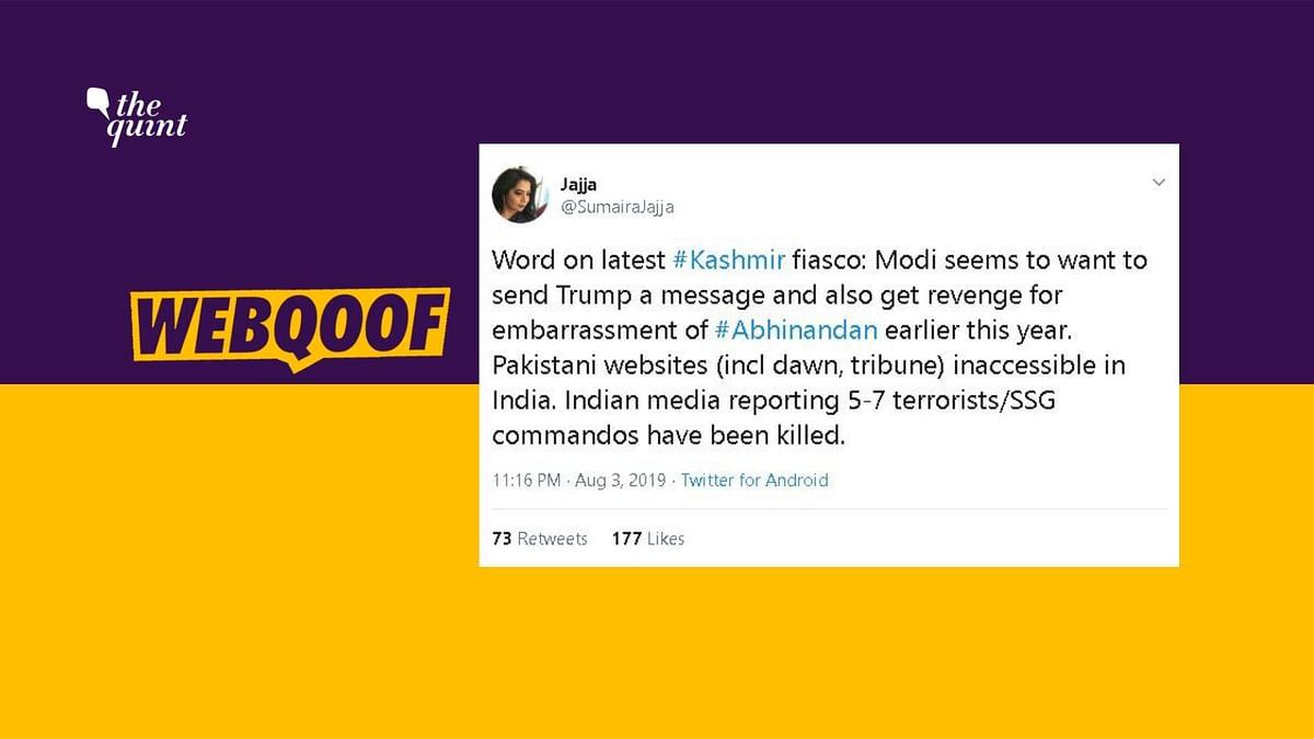 Article 370: No, India Has Not Blocked Pakistani News Websites