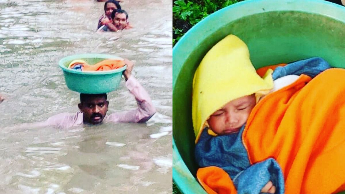 Good News: Gujarat Cop Hailed as Hero for Rescuing Drowning Infant