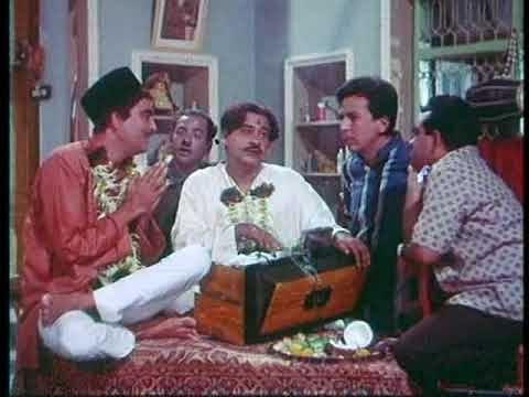 Vidyapati trying to teach Bhola.