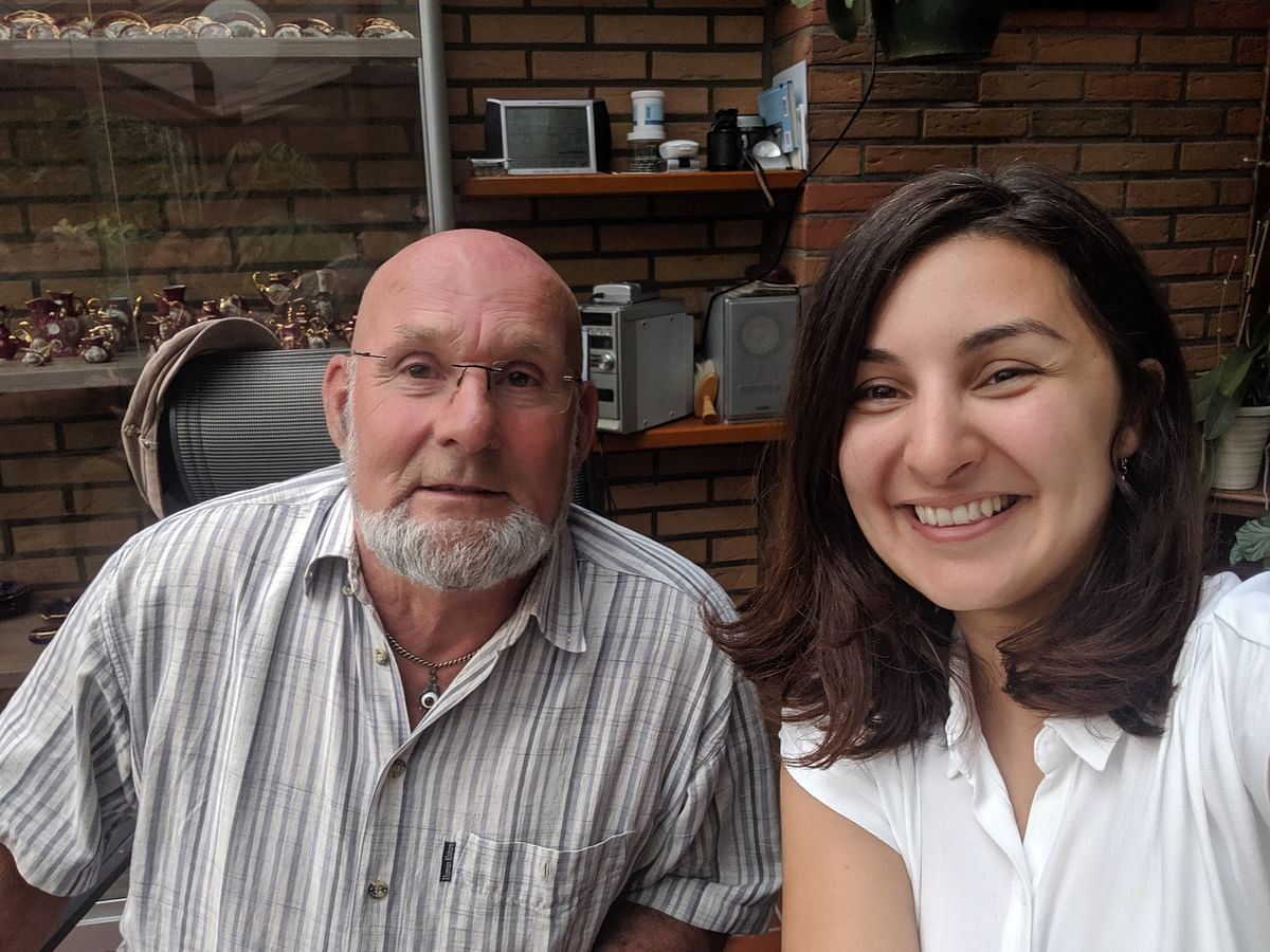 'Gifted Me a Bike': Ex-Refugee Tracks Down Benefactor 24 Yrs Later
