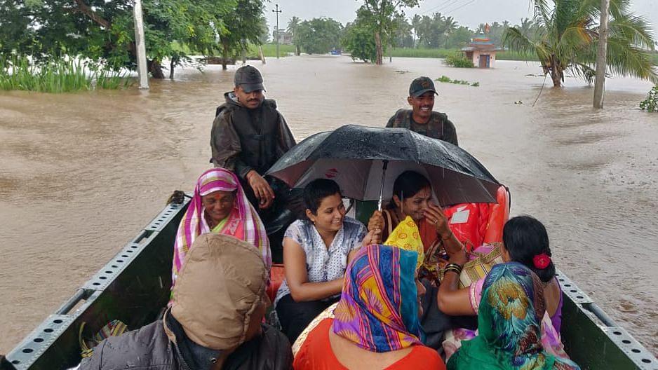 Karnataka Floods: 24 Dead, 2.43 Lakh Rescued & More Rain Predicted