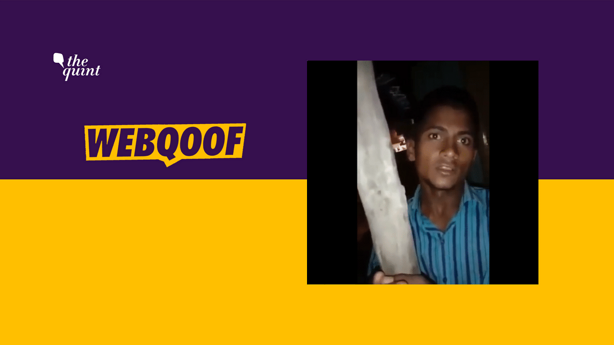 Video of UP Man Saying He Abducts Kids & Sells Organs Is Fake News