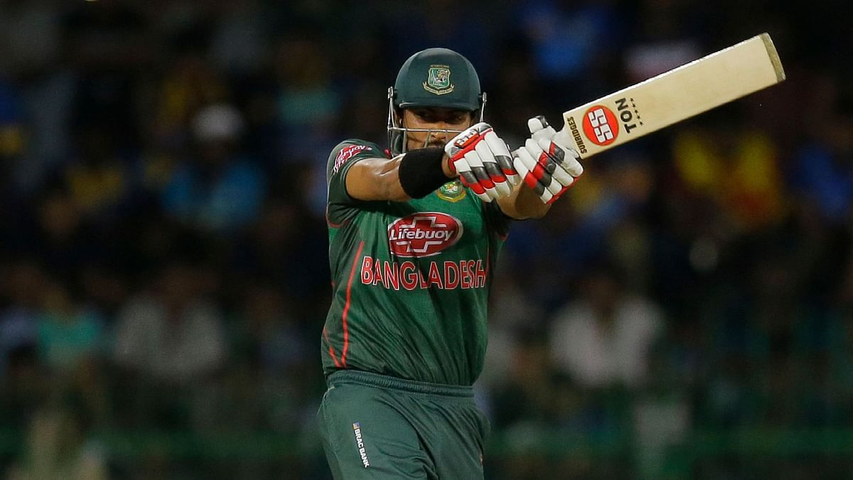 After taking three for 56, Soumya Sarkar scored 69 runs.