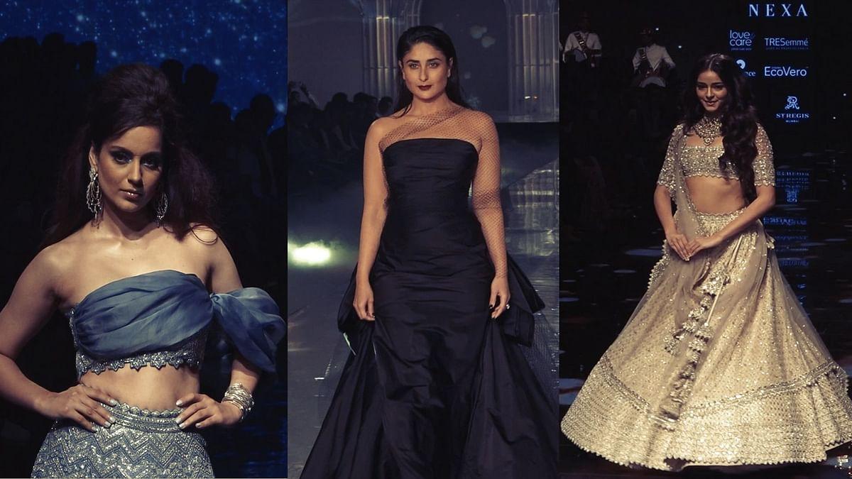 Kangana, Kareena, Ananya and more at Lakme Fashion Week