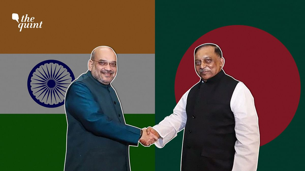 Image of Indian Home Minister Amit Shah (L) and Bangladesh Home Minister Asaduzzaman Khan (R) used for representational purposes.