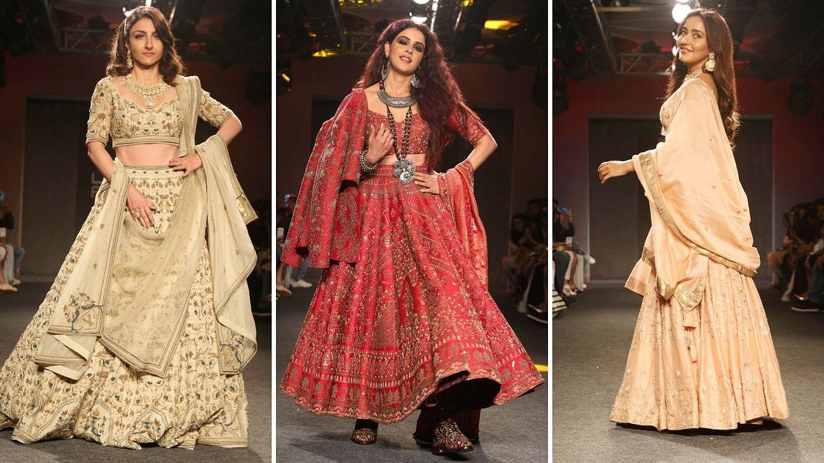 In Pics: Soha Ali Khan, Genelia D'Souza, Neha Sharma Dazzle at LFW