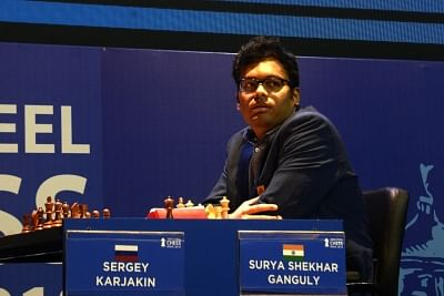 Indian chess Grandmaster Surya Shekhar Ganguly. (Photo: IANS)