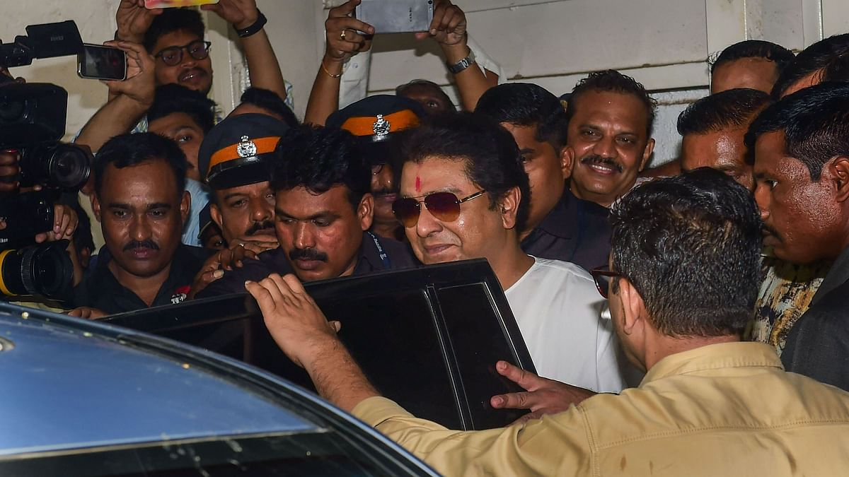 Raj Thackeray Grilled by ED, Leaves Office After  8 Hours