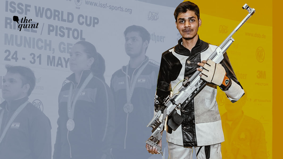 Divyansh Panwar earned a Olympic quota place for India earlier this year.