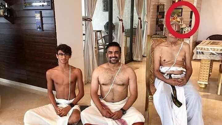 Madhavan Shuts Down Troll Objecting to Cross in His Family Photo