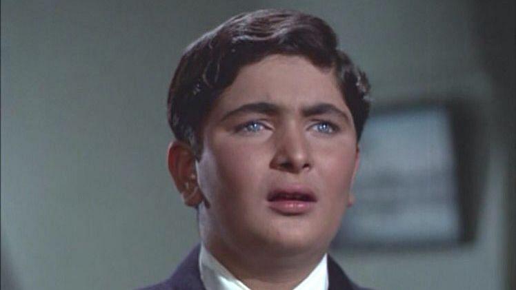 Rishi Kapoor in <i>Mera Naam Joker</i>.