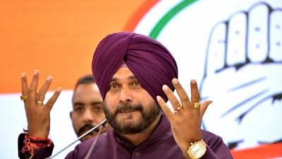 Sidhu Evades Bihar Police for a Week, Notice Pasted Outside House