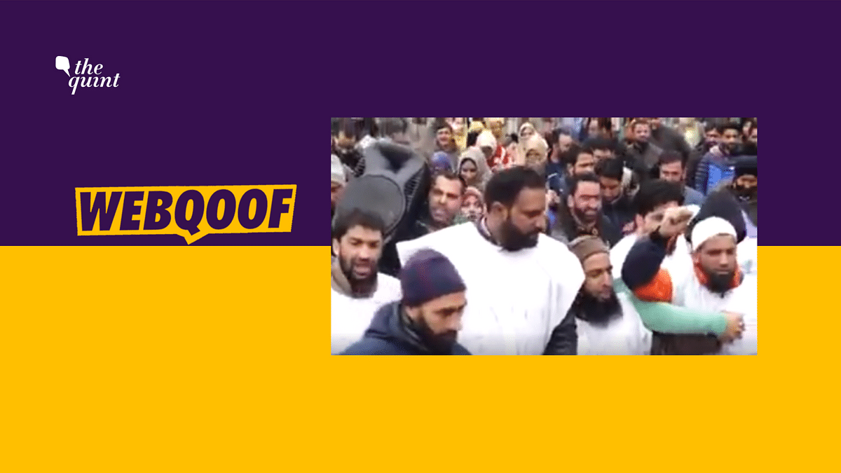NHM Employees' Protest Video Falsely Shared as Article 370 Unrest